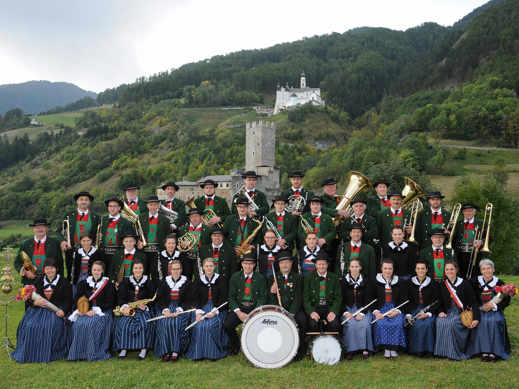 200 years of the band of Burgusio/Burgeis with great Festival and procession
