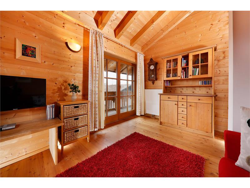 Wohnzimmer im Bergchalet Fuchsberger