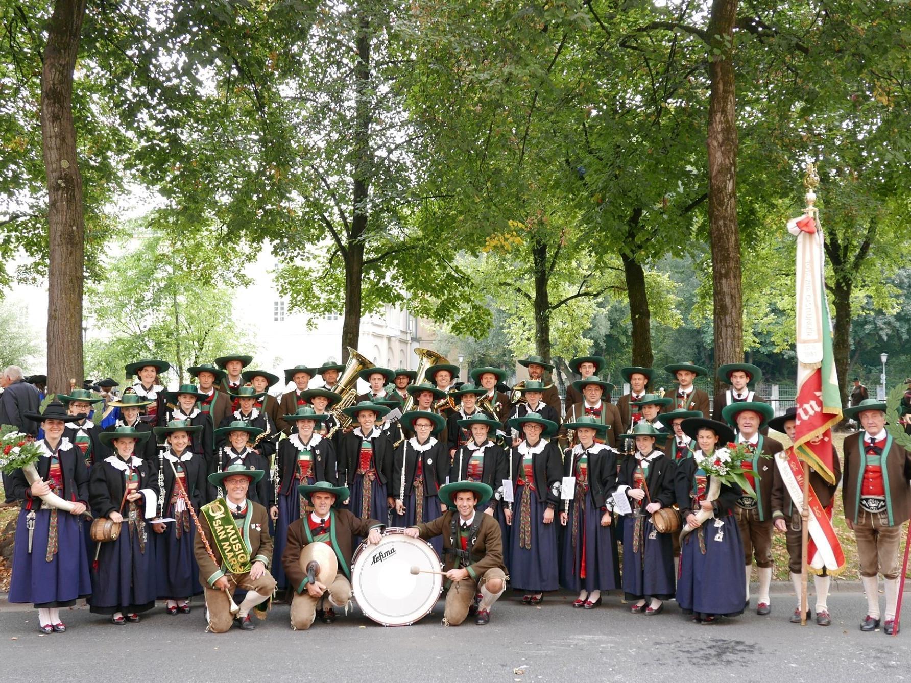 Concerto della banda musicale San Martin a Lungiarü