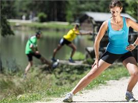 Alpe di Siusi Balance: Workout della forza presso il laghetto di Fiè