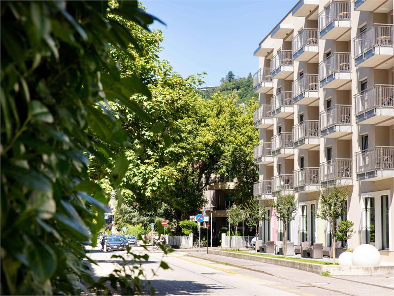 City Hotel Merano - Facciata