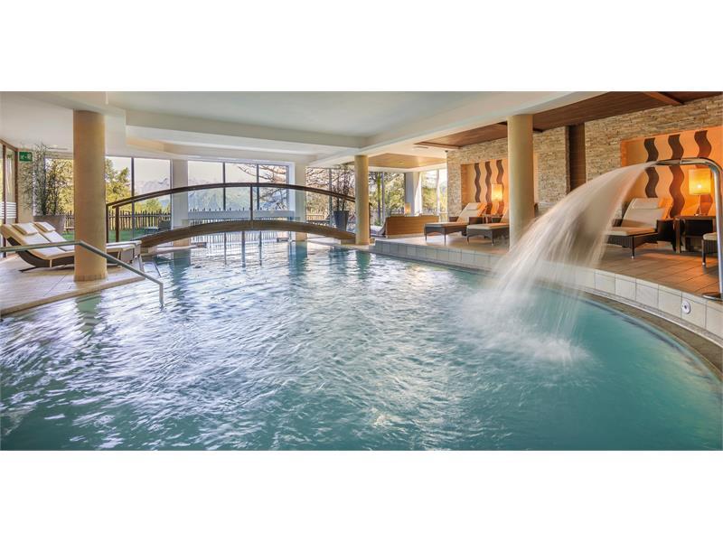 Indoor adventure pool