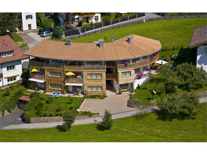 Luftaufnahme Apartments Sun in Kastelruth