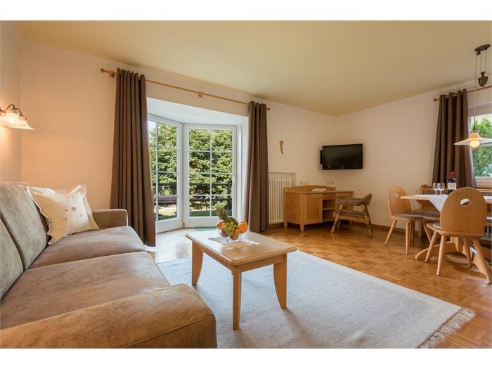 Appartement Arnika Wohnraum