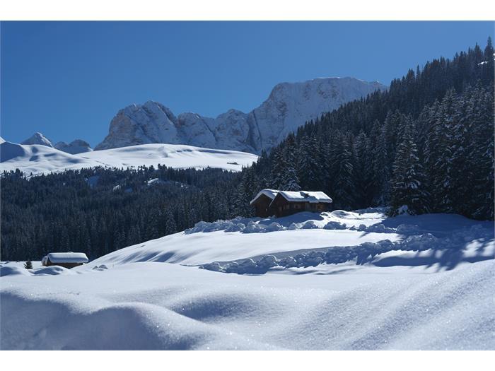 Wintermärchen auf der Malider Schwaige