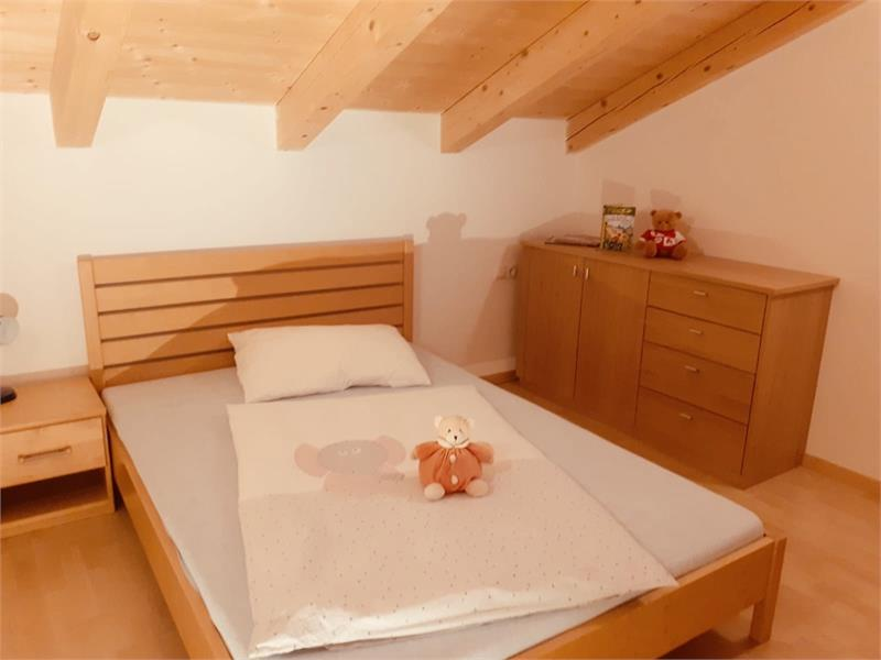 Bed room in the apartment - House Mittelberger in Avelengo/Hafling