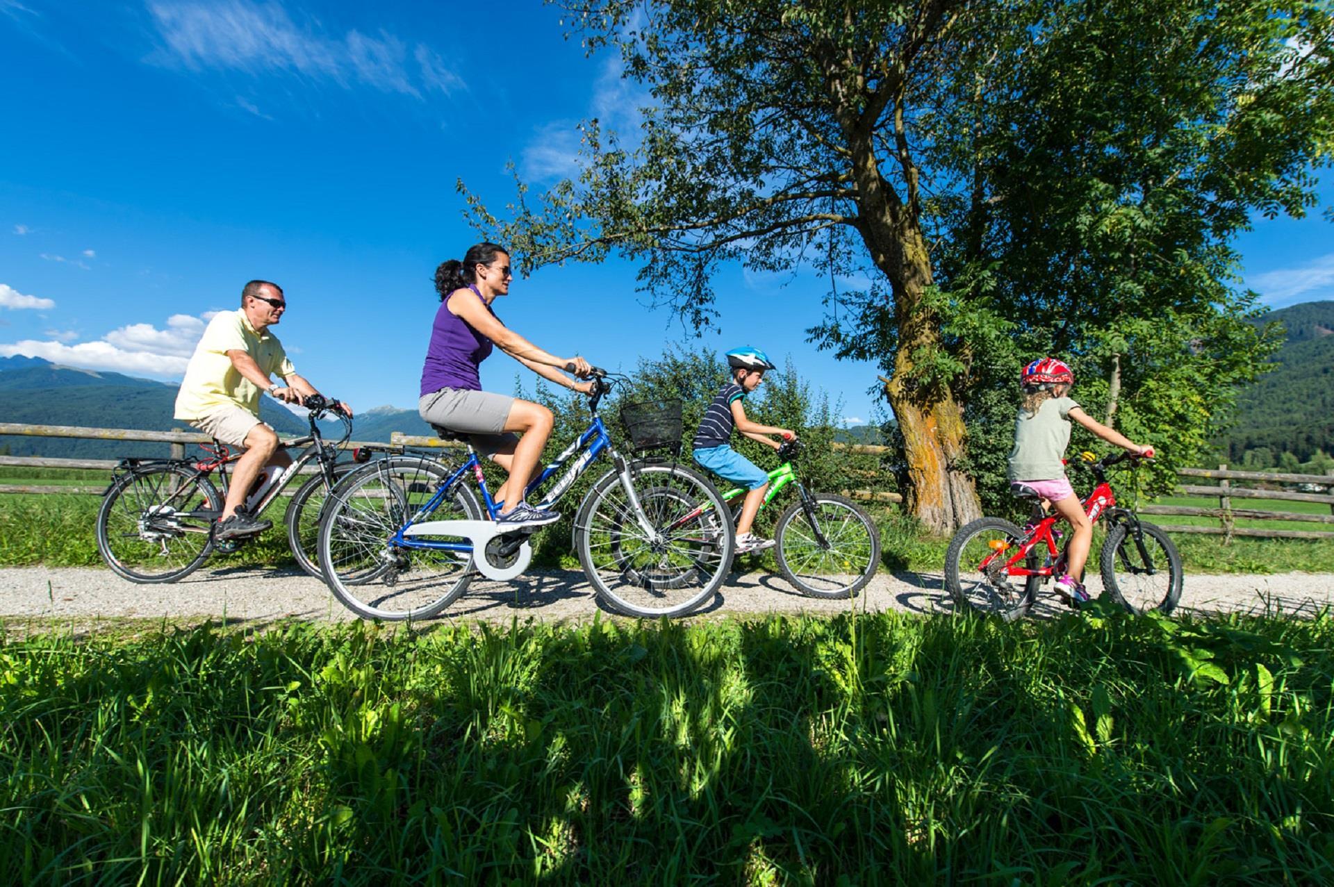 Familien-Radtour Gais