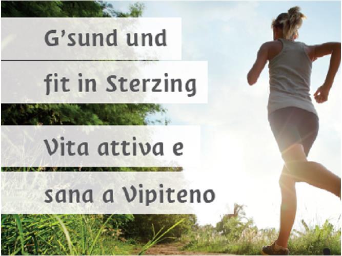 G'sund und fit in Sterzing