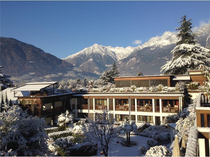 Inverno all'hotel Ansitz Plantitscherhof