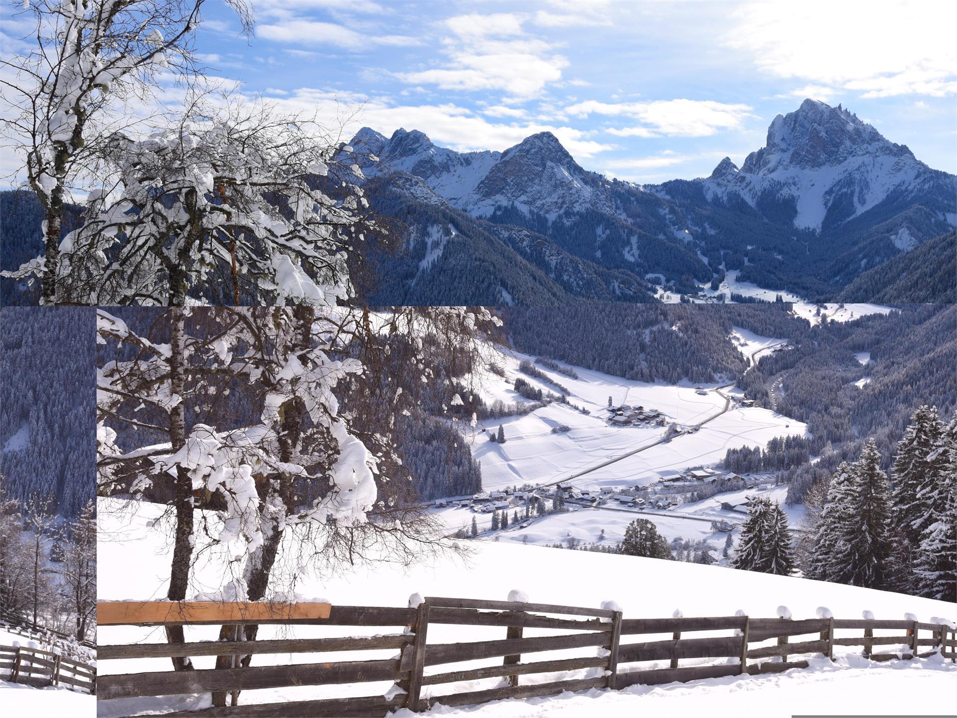 Winterwanderung - Pragser Sonnenberg
