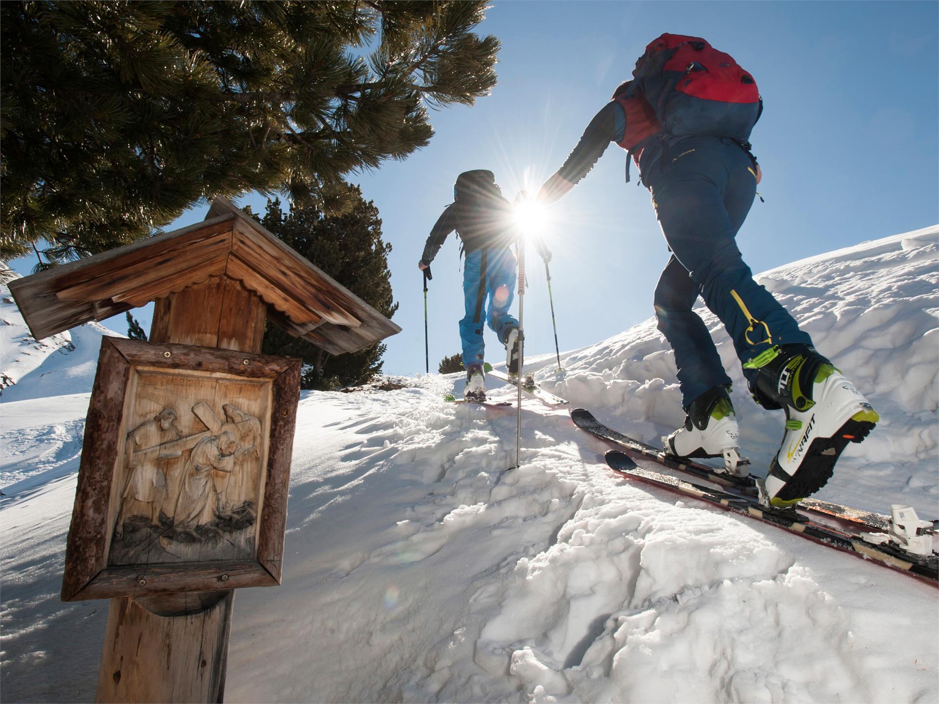 Skitour Juac – Regensburgerhütte – Col Raiser