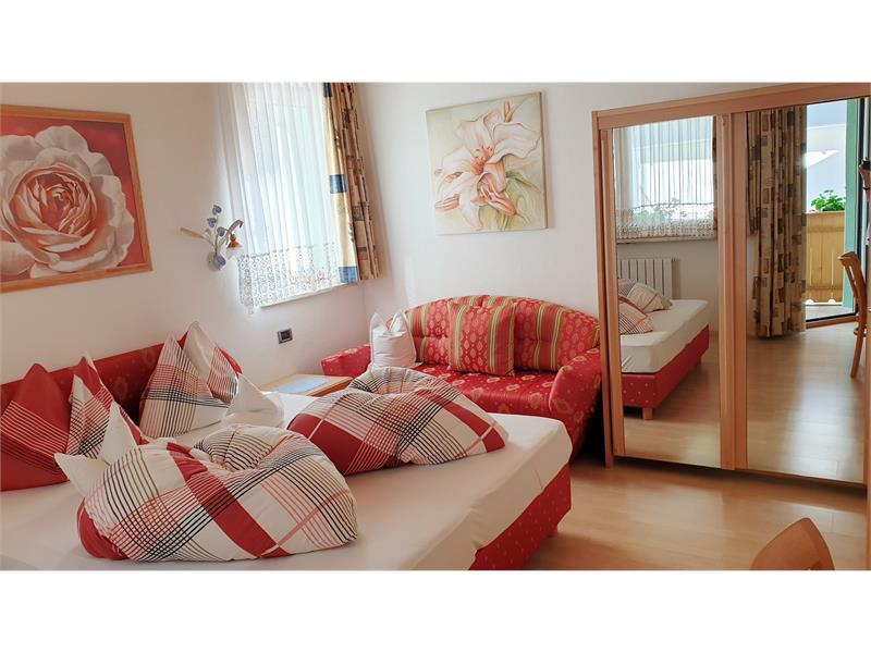 Appartement Bergrose Schlafzimmer