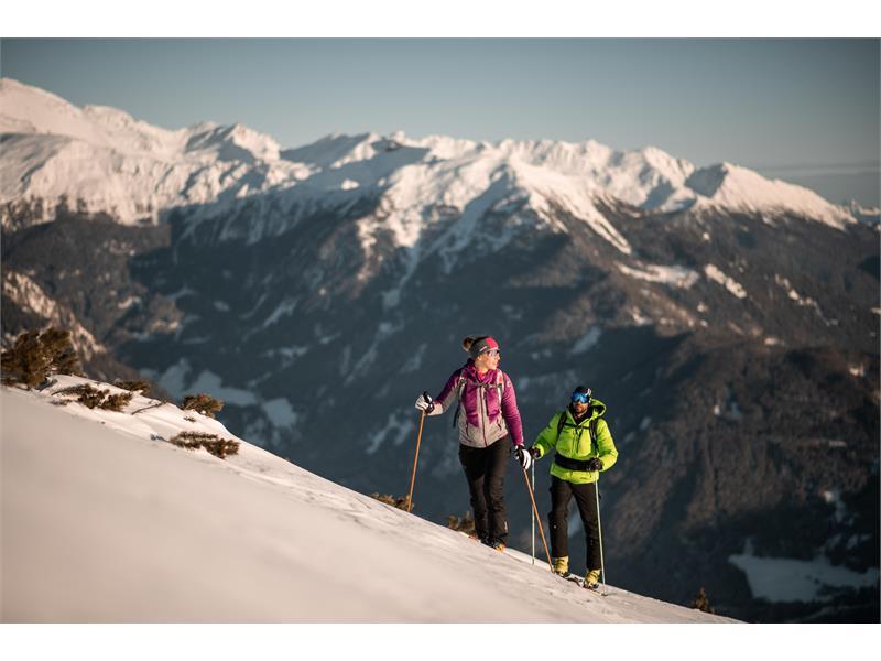 Skitour am Rosskopf in Sterzing