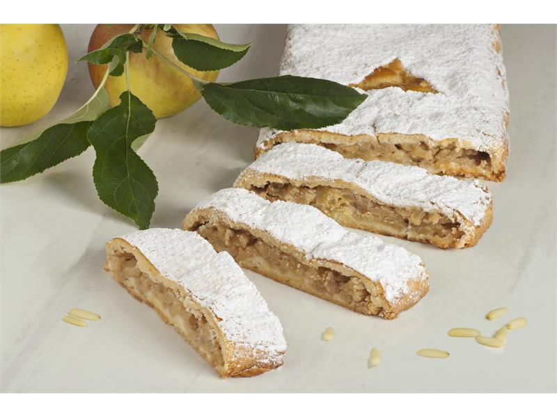 South Tyrolean apple strudel