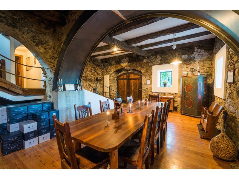sala degustazione vino