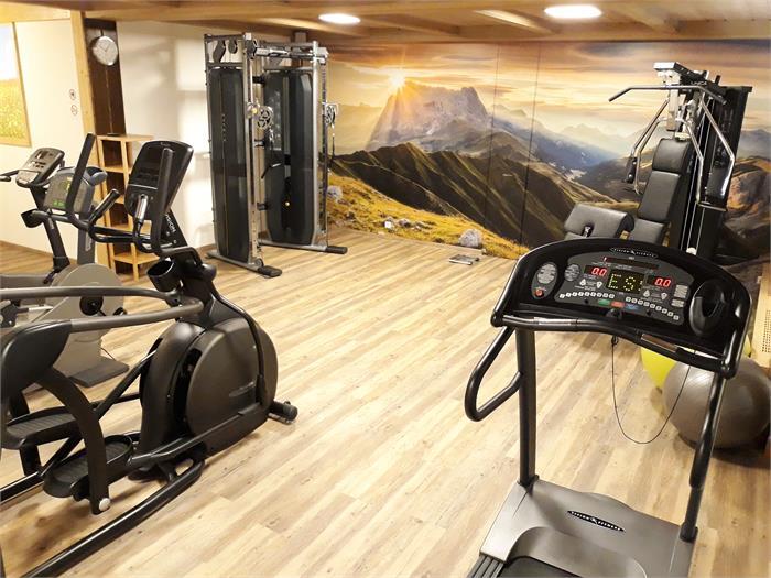 Fitnessroom Hotel Castel