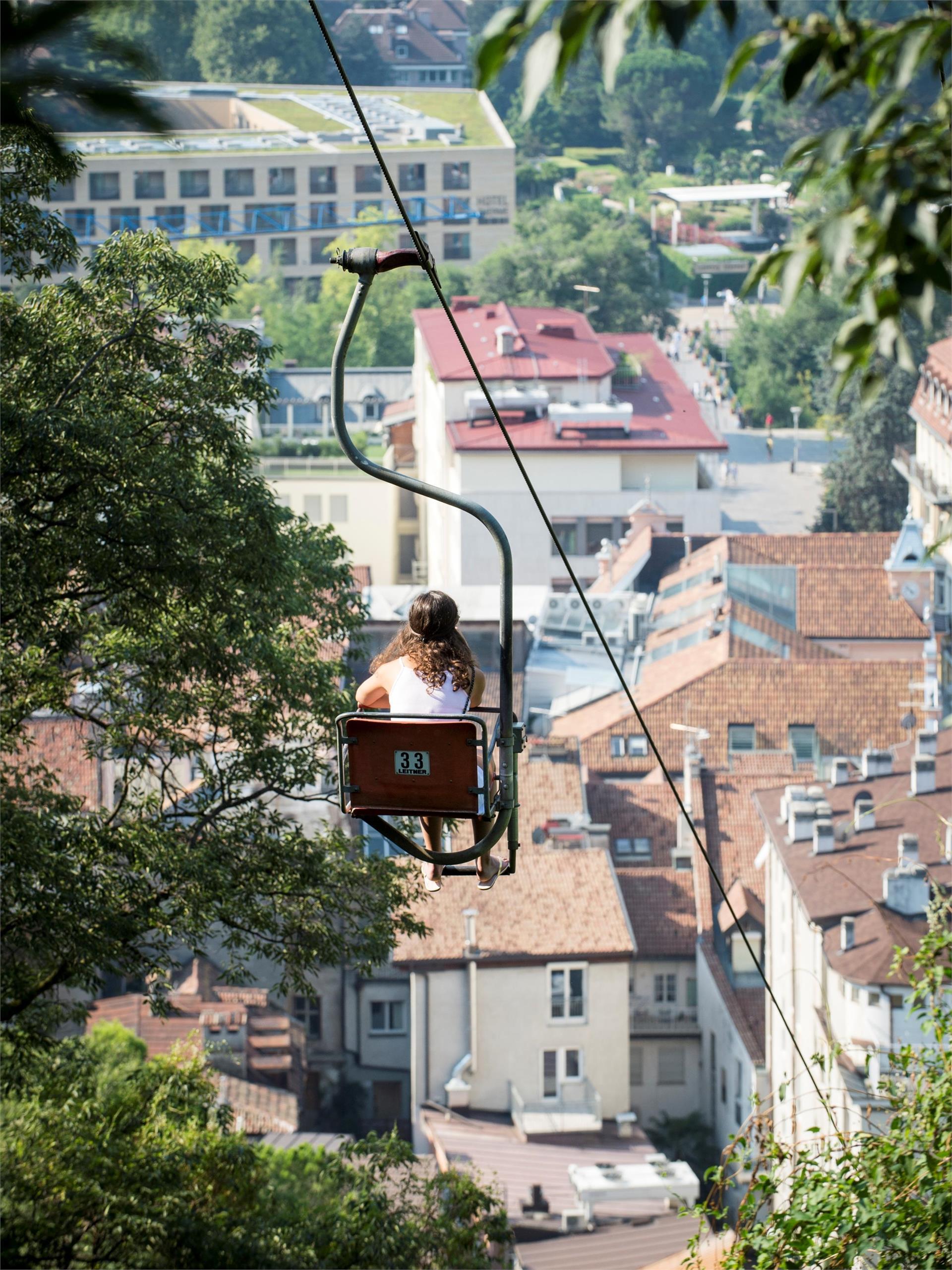 Chairlift Merano-Tirolo