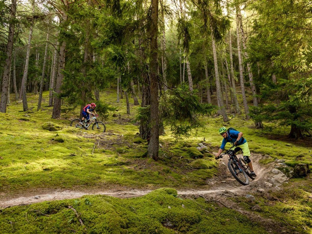 Tour in mountain bike Hasl-Wieben con il Holy Hansen Trail