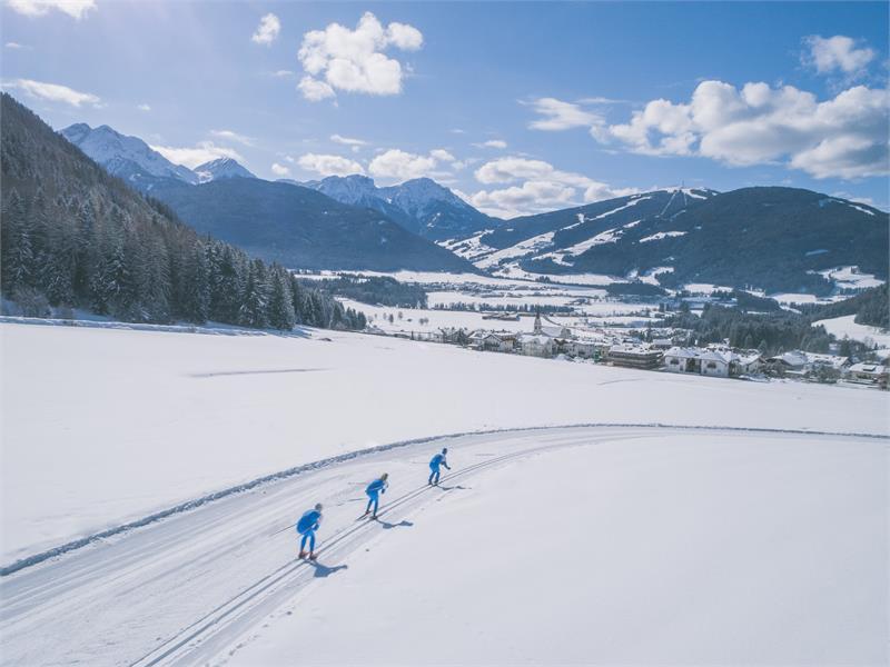 cross countrx skiing Antholzertal