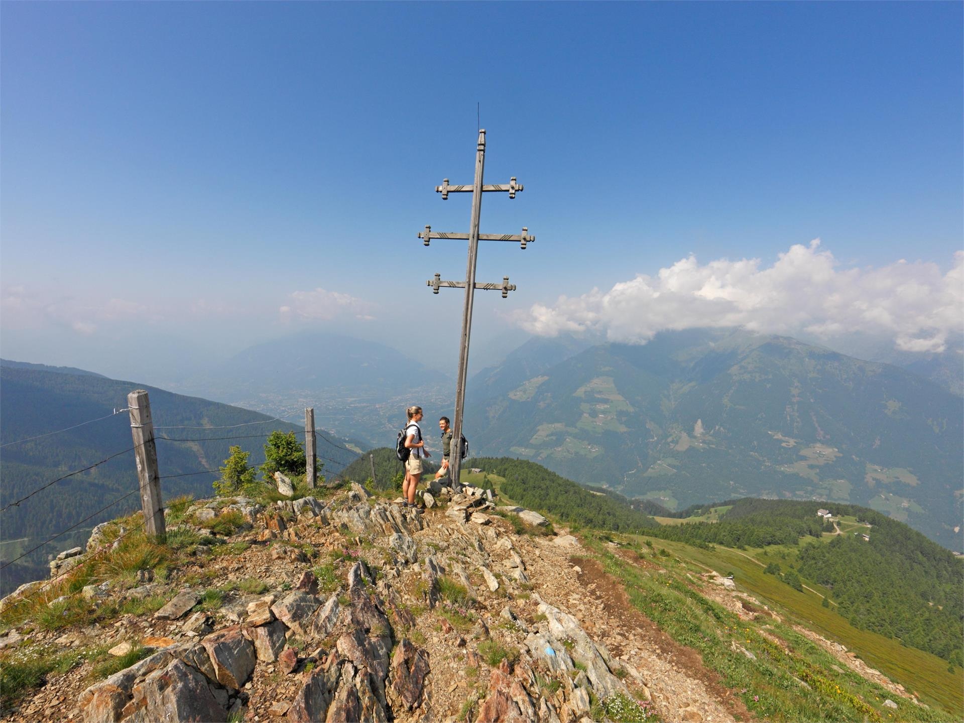 Mountain tour over the Hönigspitze Peak (2.695 m) to Punta Civina