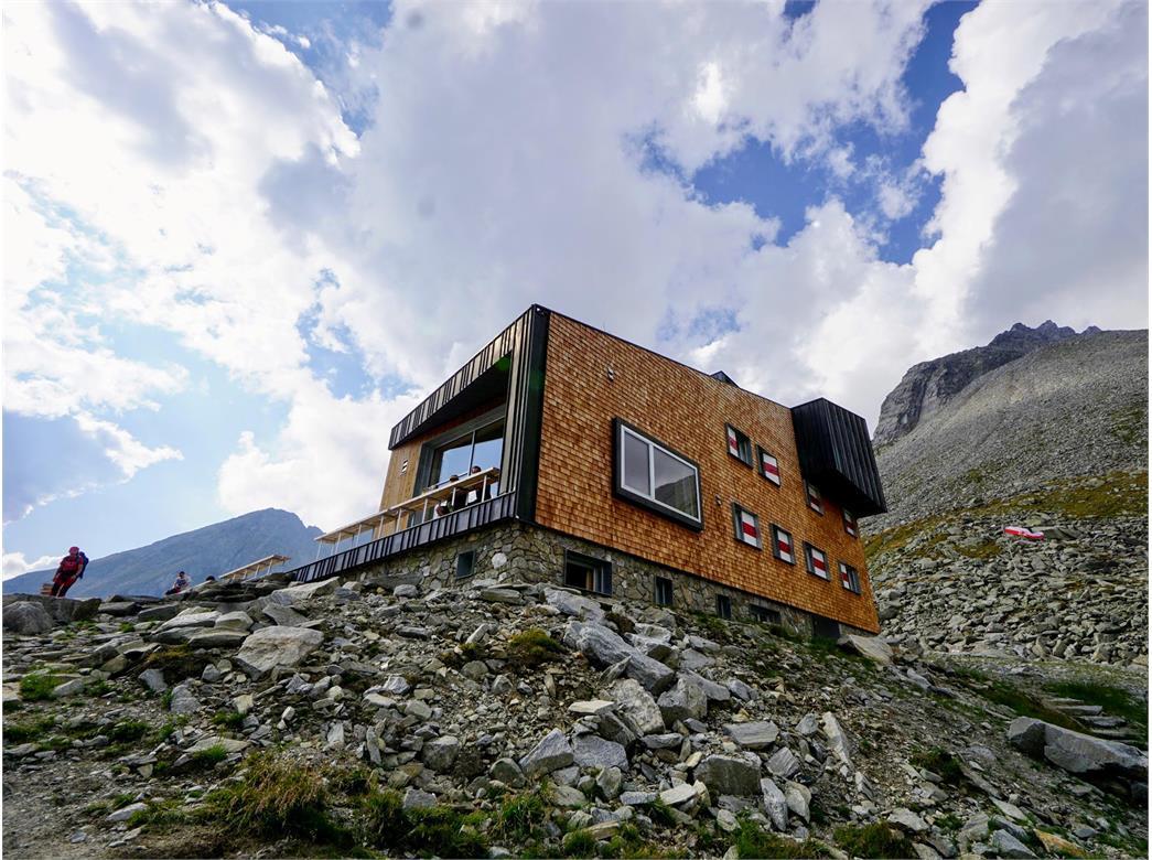 Edelrauthütte Rifugio Ponte di Ghiaccio Lappach Lappago