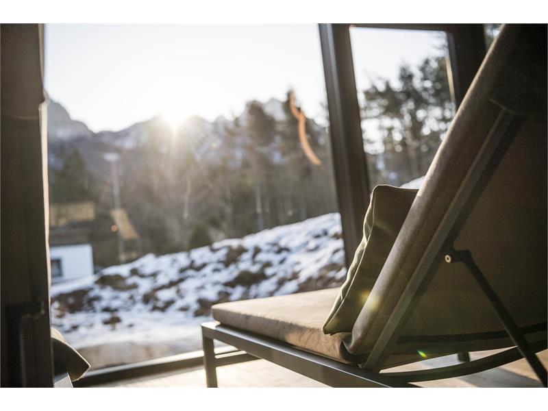 Relax nella Zona Wellness dell`Hotel Waldsee nelle Dolomiti