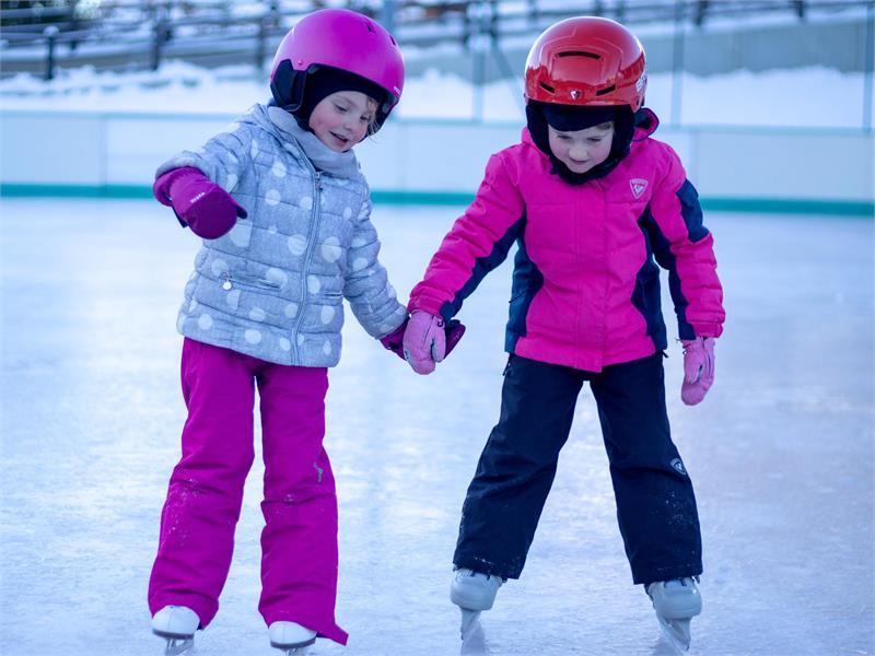 Pista di pattinaggio su ghiaccio Center Iman