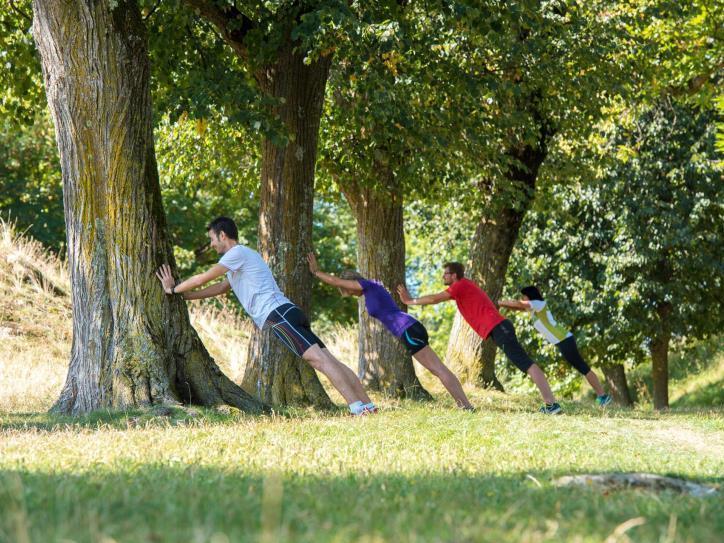 Die Natur als Fitnessstudio für Jung und Alt