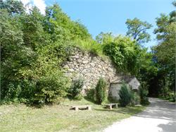 Ruin of the church St. Anton Abt