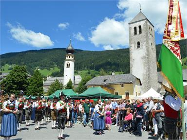Folk festival by the fire brigade of San Candido