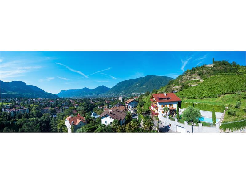 Residence Immenhof - the panorama