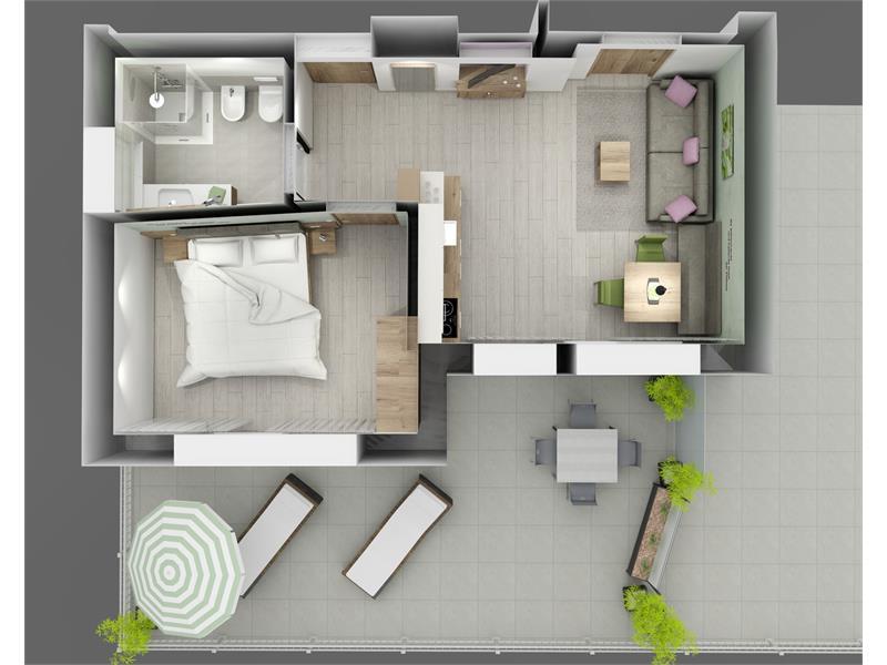 Melissa - Wohnungseinteilung