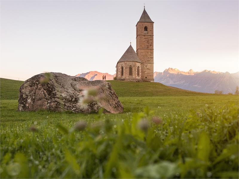 St. Kathrein Church in Hafling, South Tyrol