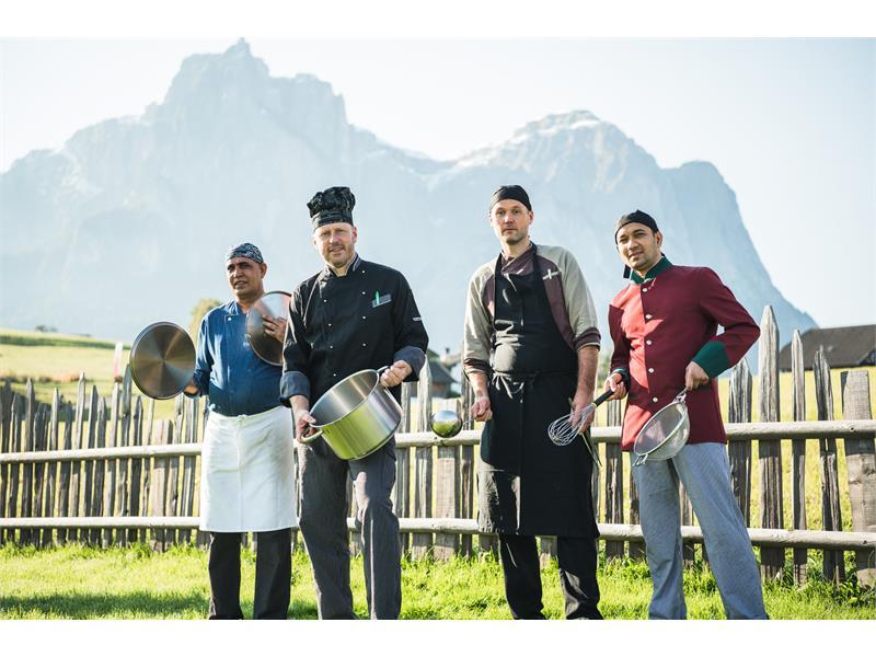 team of Castel kitchen