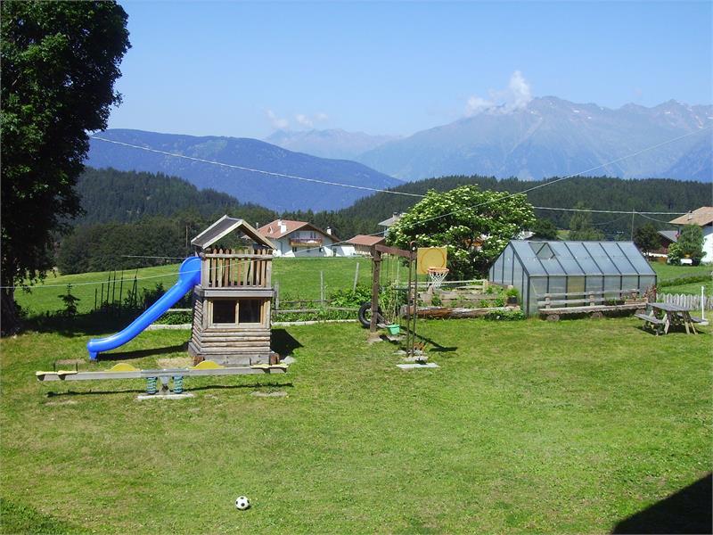 Il parco giochi per i bambini al maso Ganthalerhof