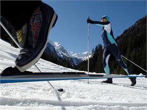 Cross country skiing Osttirol
