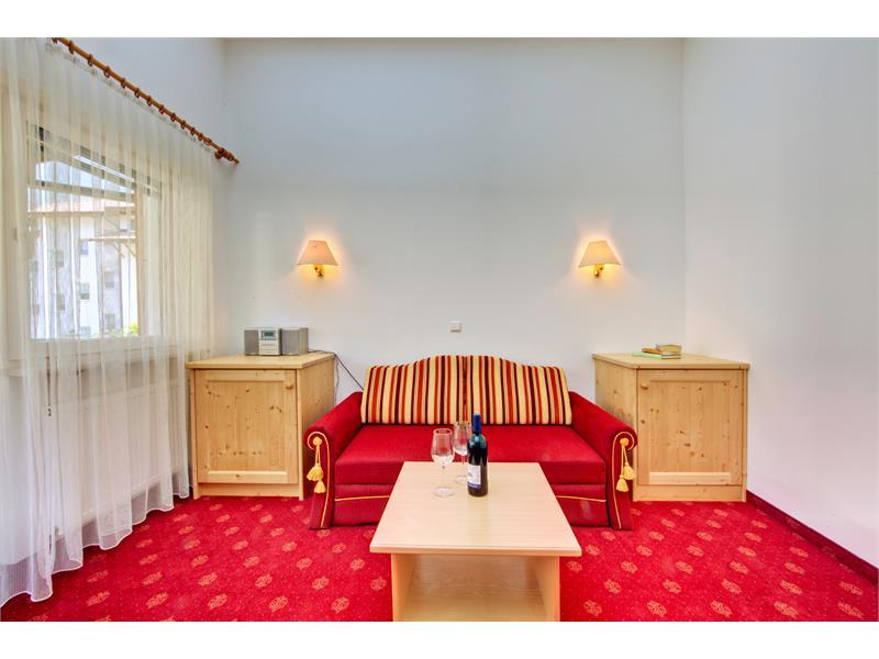 Suite Aschbach Wohnzimmer - Hotel Plauserhof