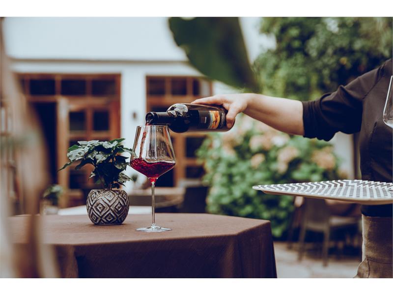 große Auswahl an Südtiroler Weinen