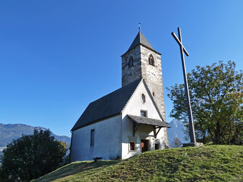 St Verena Church in Pietrarossa/Rotwand