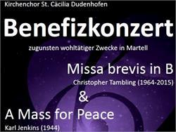 Benefit concert of the partnership community Dudenhofen