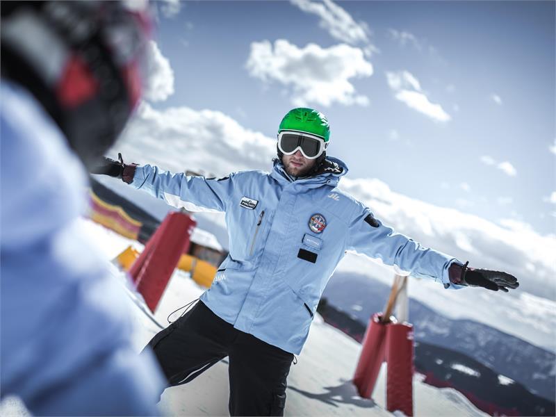 Imparare a sciare a Merano 2000