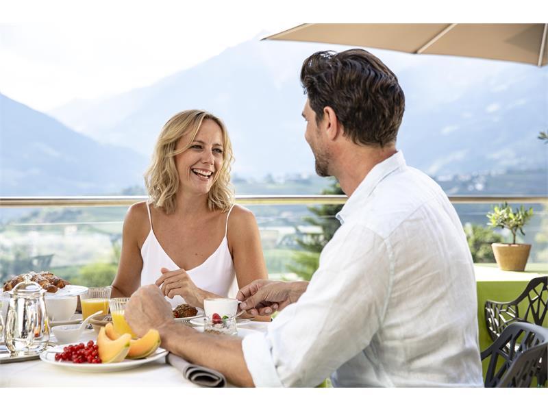 Frühstück Schenna Resort