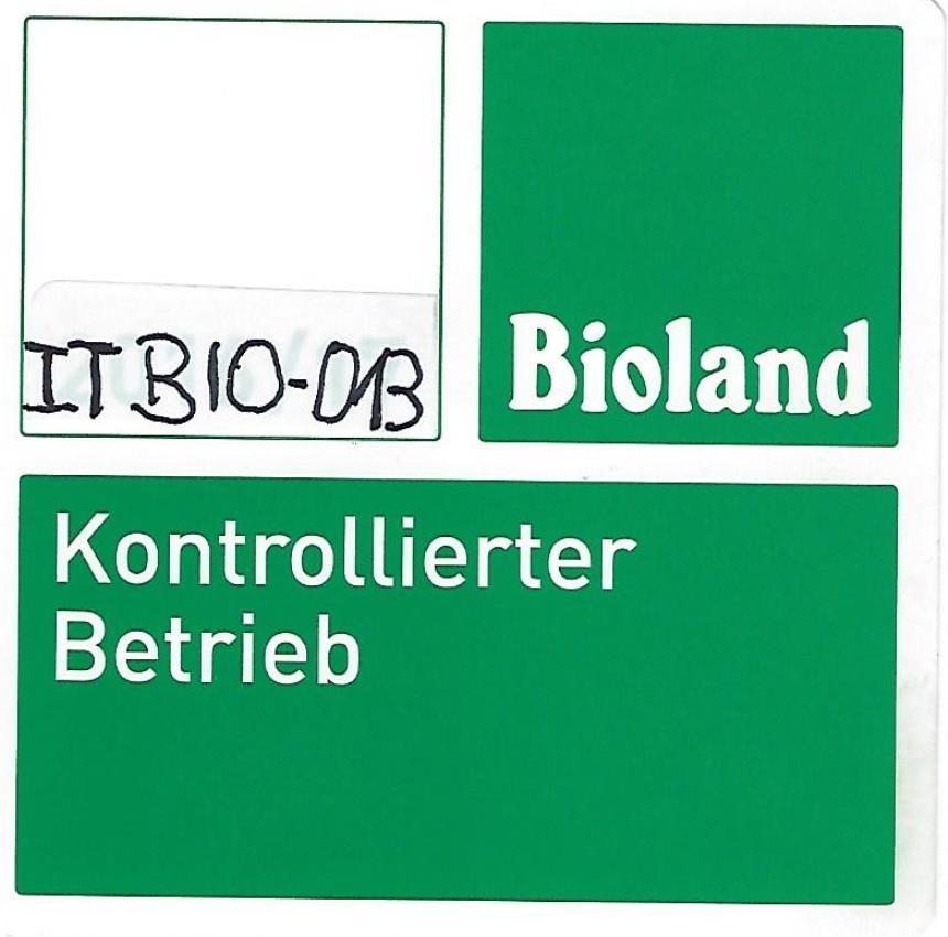 Bio-Betrieb Nr. IT Bio-013