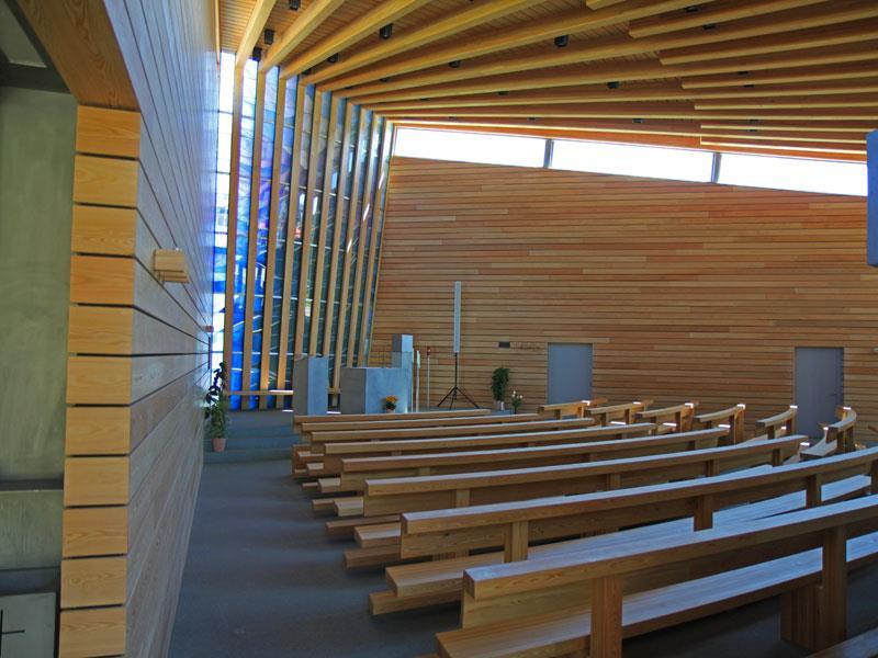Franziskuskirche in Compatsch: Heilige Messe