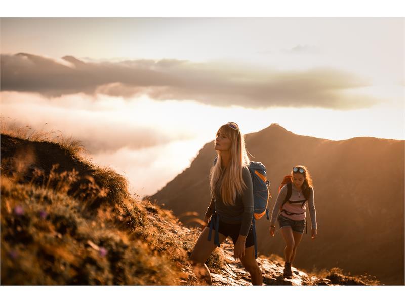 Wandern am Rosskopf Sterzing in Südtirol