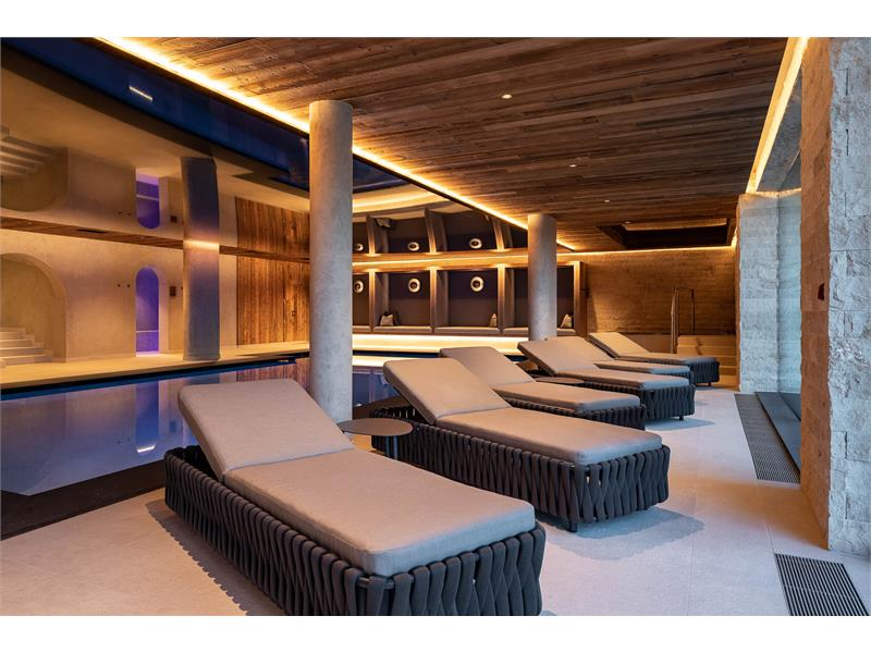 Relax in the indoor pool
