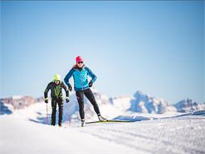Sci Fondo Alpe di Siusi