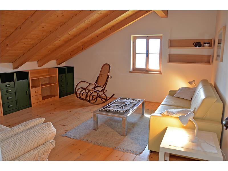Gemütliches Schlafzimmer im Obergeschoss - Kohlstatt Hütte