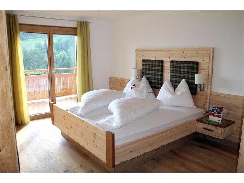 Camera da letto in legno - Maso Thalerhof a Verano, Alto Adige