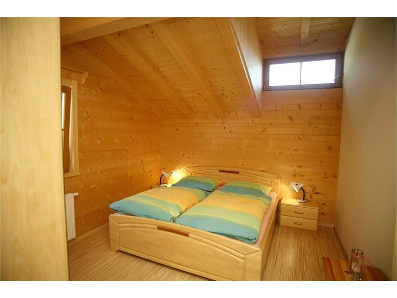 Schlafzimmer in der Ferienwohnung Sonnseite